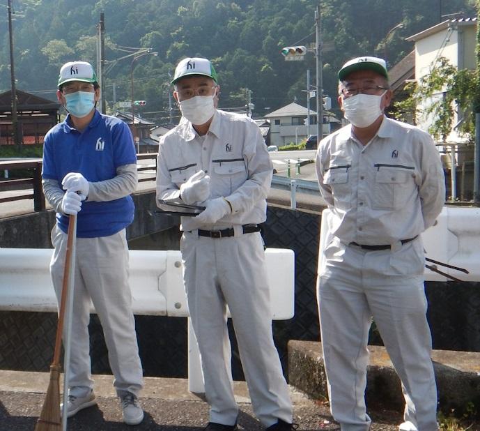 NPO法人 丸子まちづくり協議会の清掃活動に参加しました